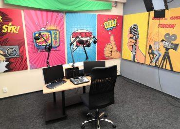 Tisková zpráva – Multimediální studio – nový svět pro studenty!